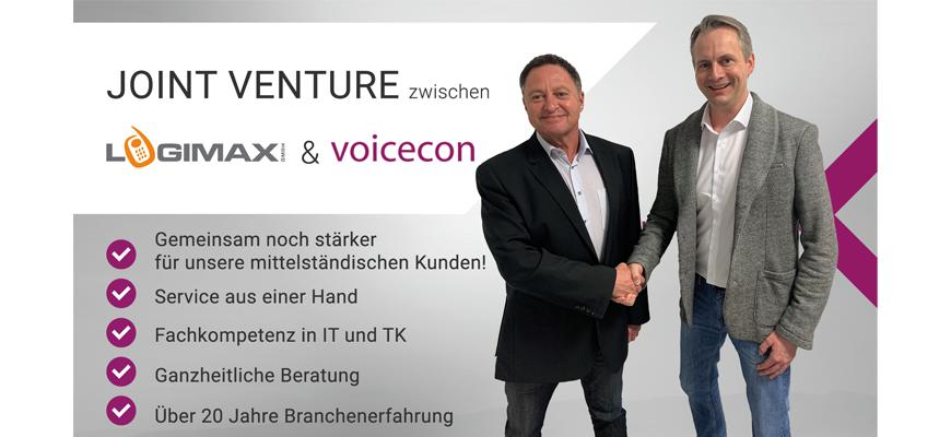 Handschlag logimax & voicecon